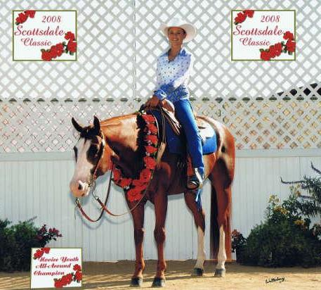 Rachel Marlin & Midas Maker Bruiser Animal Krackers Equine Therapy